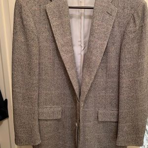 Polo Ralph Lauren Silk Wool Tweed Blazer 46R EUC